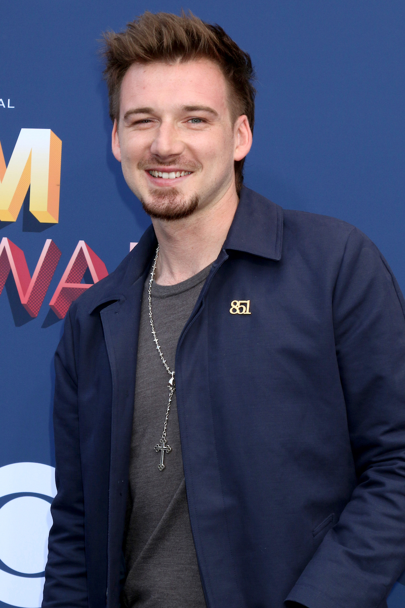 Morgan Wallen at the Academy of Country Music Awards in April 2018