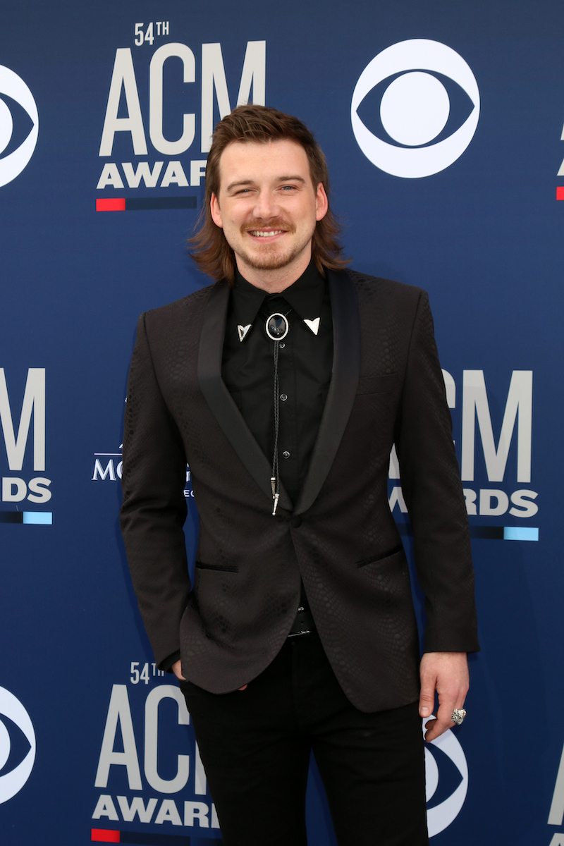 Morgan Wallen at the Academy of Country Music Awards in April 2019