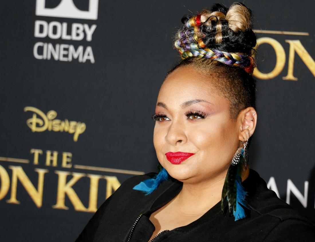 "Raven-Symoné at the ""Lion King"" premiere in 2019"