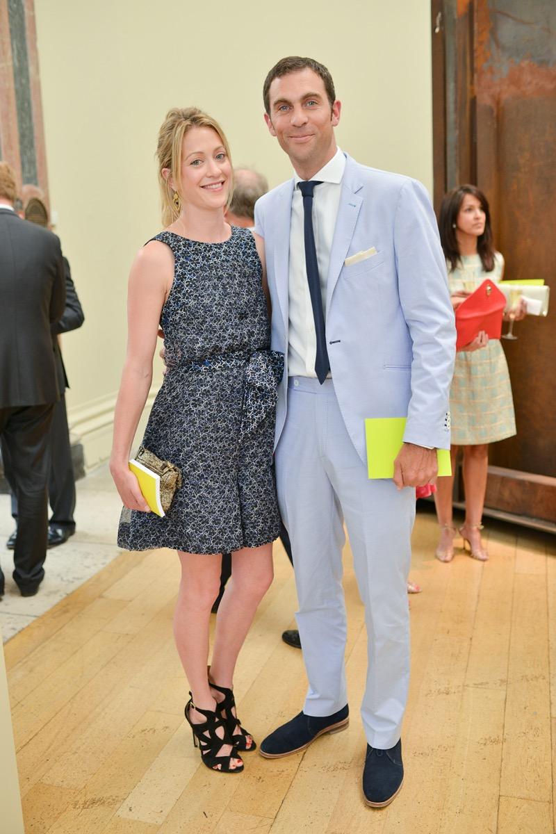 Rose Astor and Hugh van Cutsem in 2013
