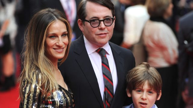 Sarah Jessica Parker Matthew Broderick and son James Wilkie