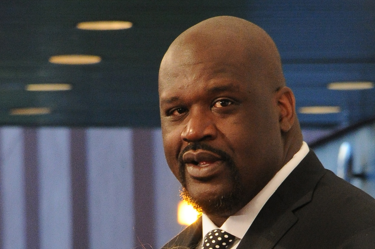 Shaquille O'Neal at the Tribeca Film Festival in 2016