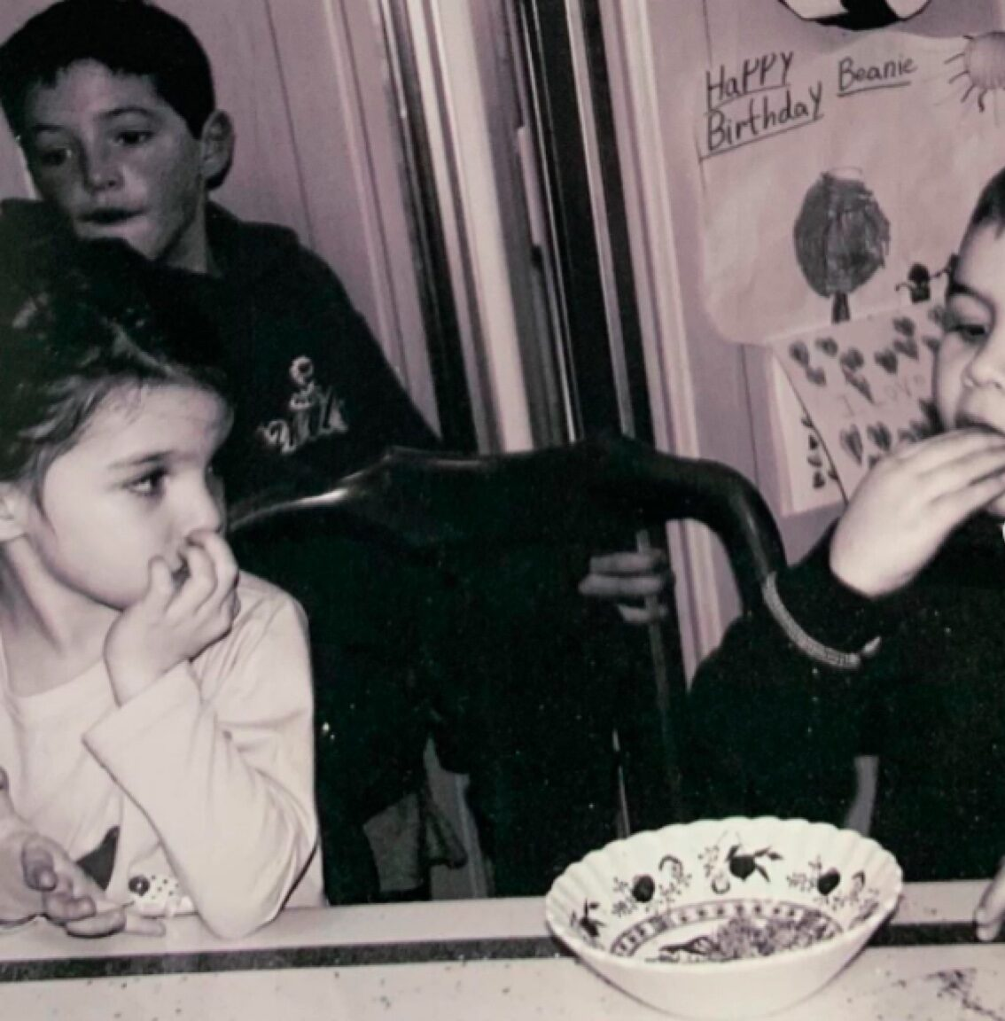 Young Suri Cruise with friends on Instagram