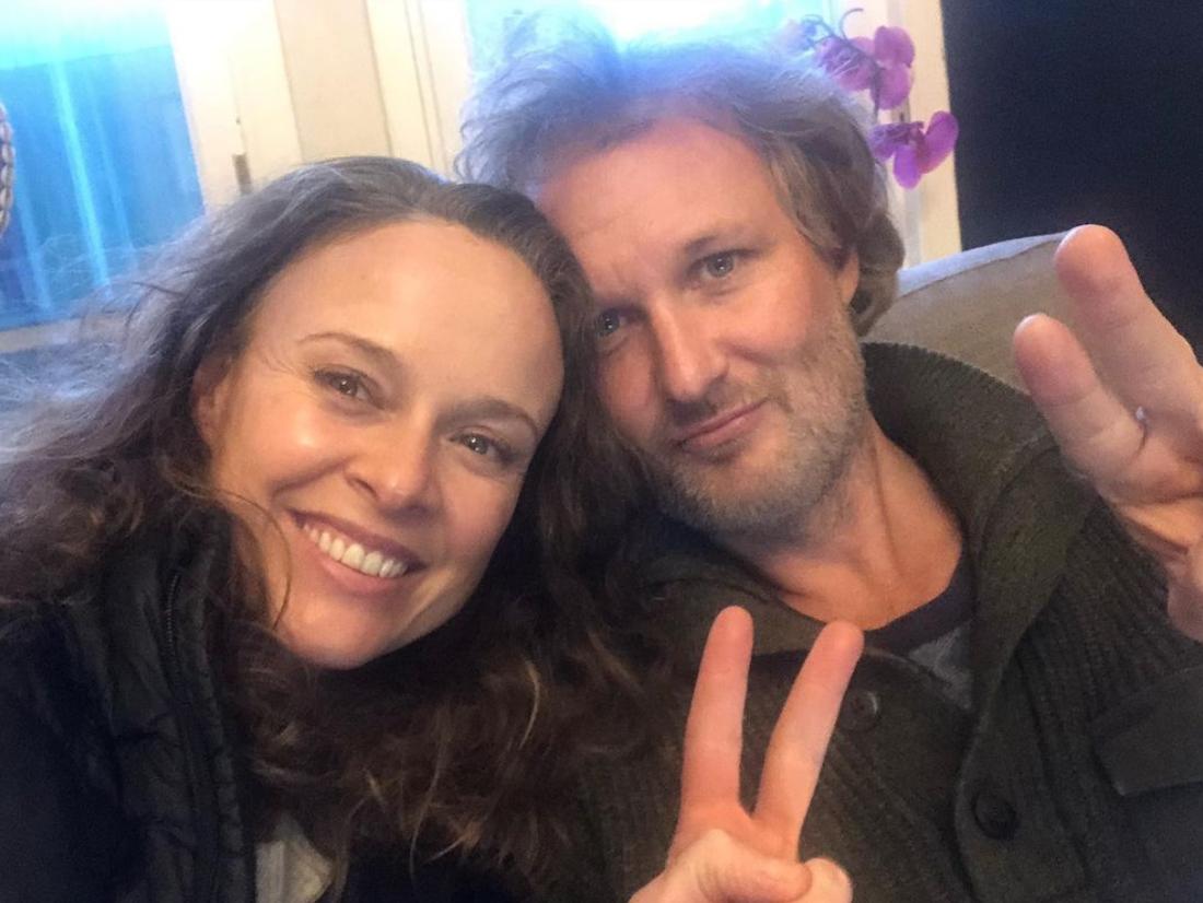 Tami Stronach and Greg Steinbruner in an Instagram selfie