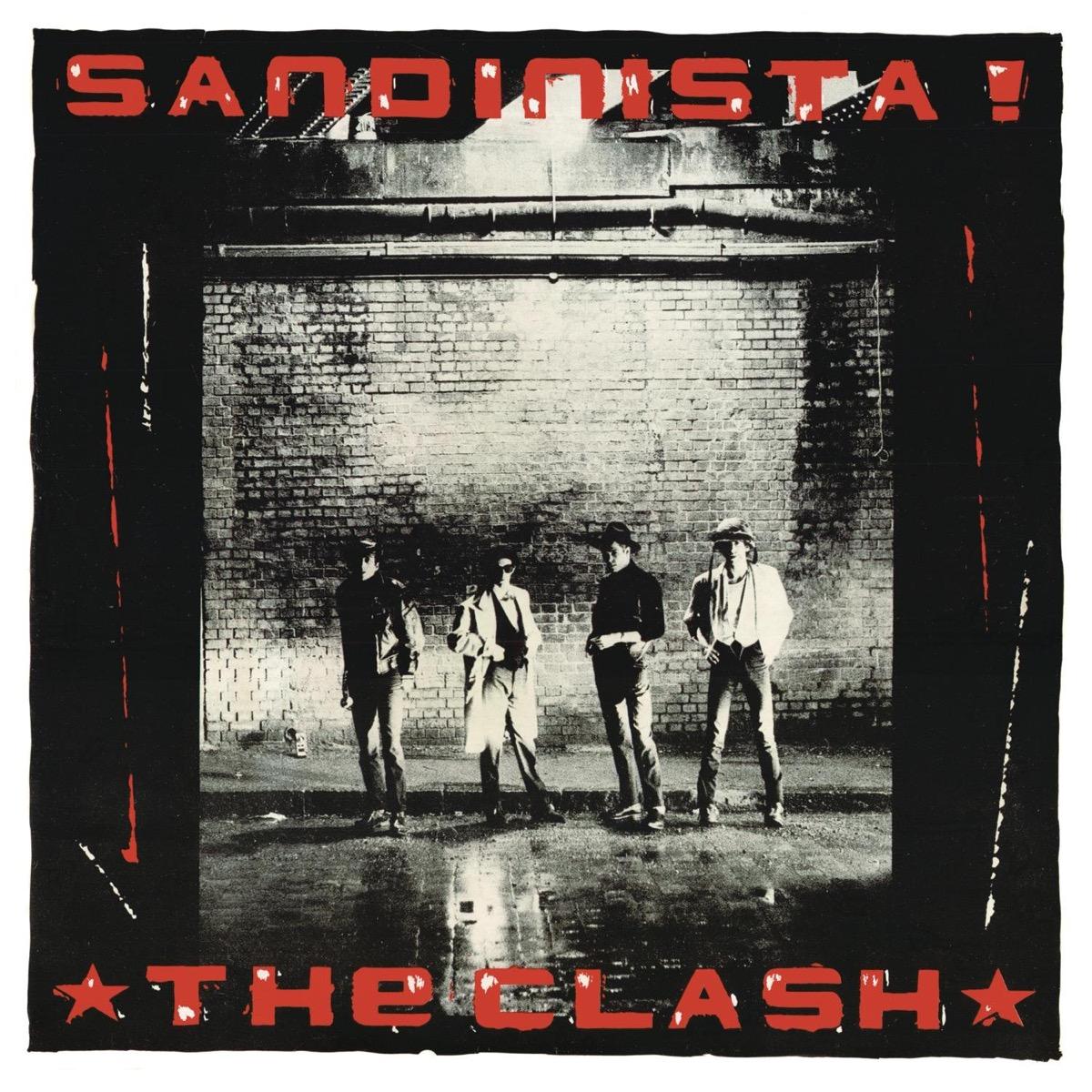 """The Clash """"Sandinista!"""" Album Cover"""