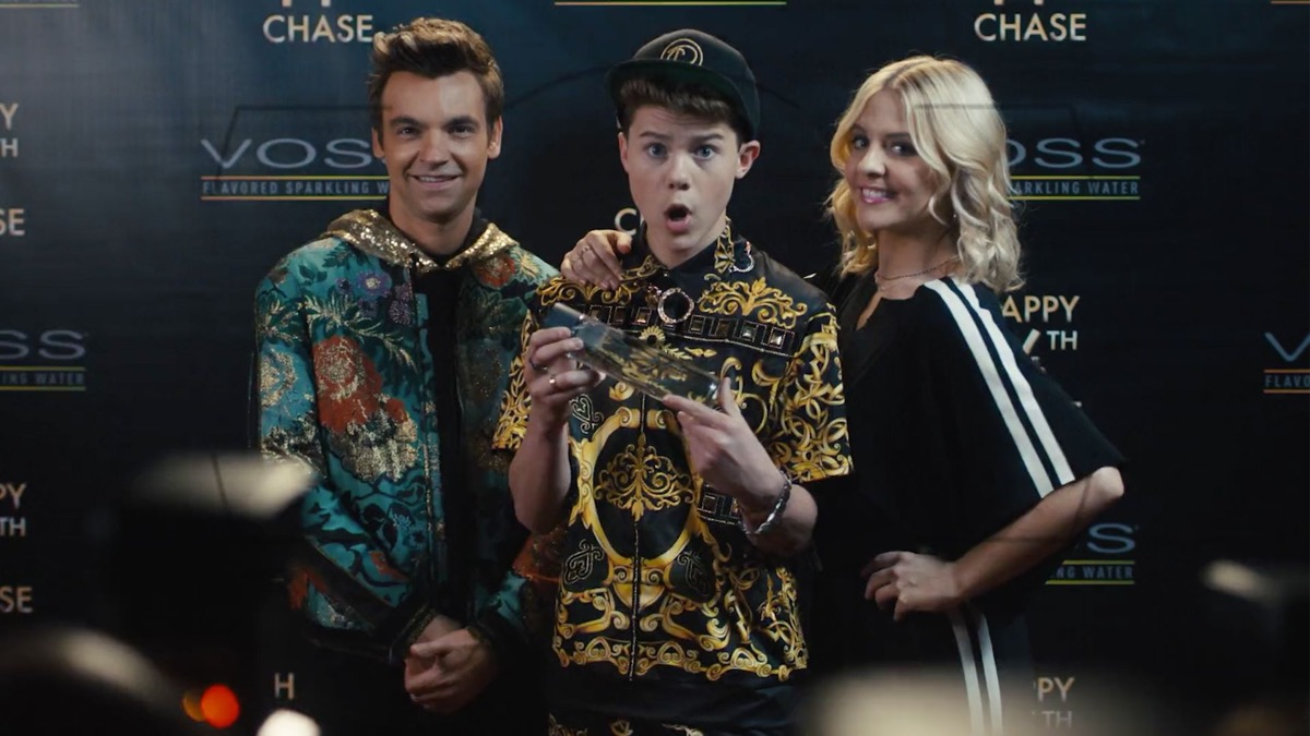 Drew Tarver, Case Walker, and Heléne Yorke in The Other Two