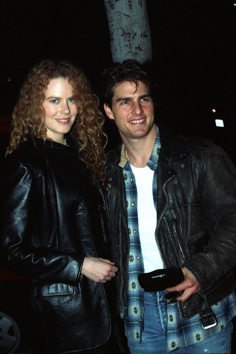 Nicole Kidman and Tom Cruise in 1992