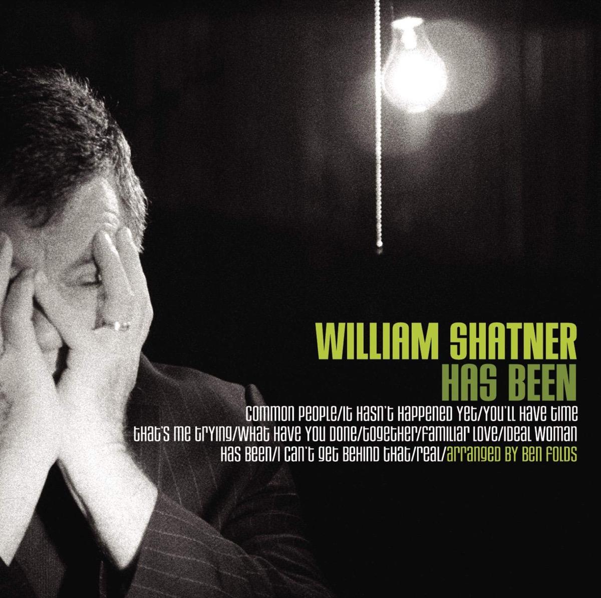 "William Shatner ""Has Been"" Album Cover"