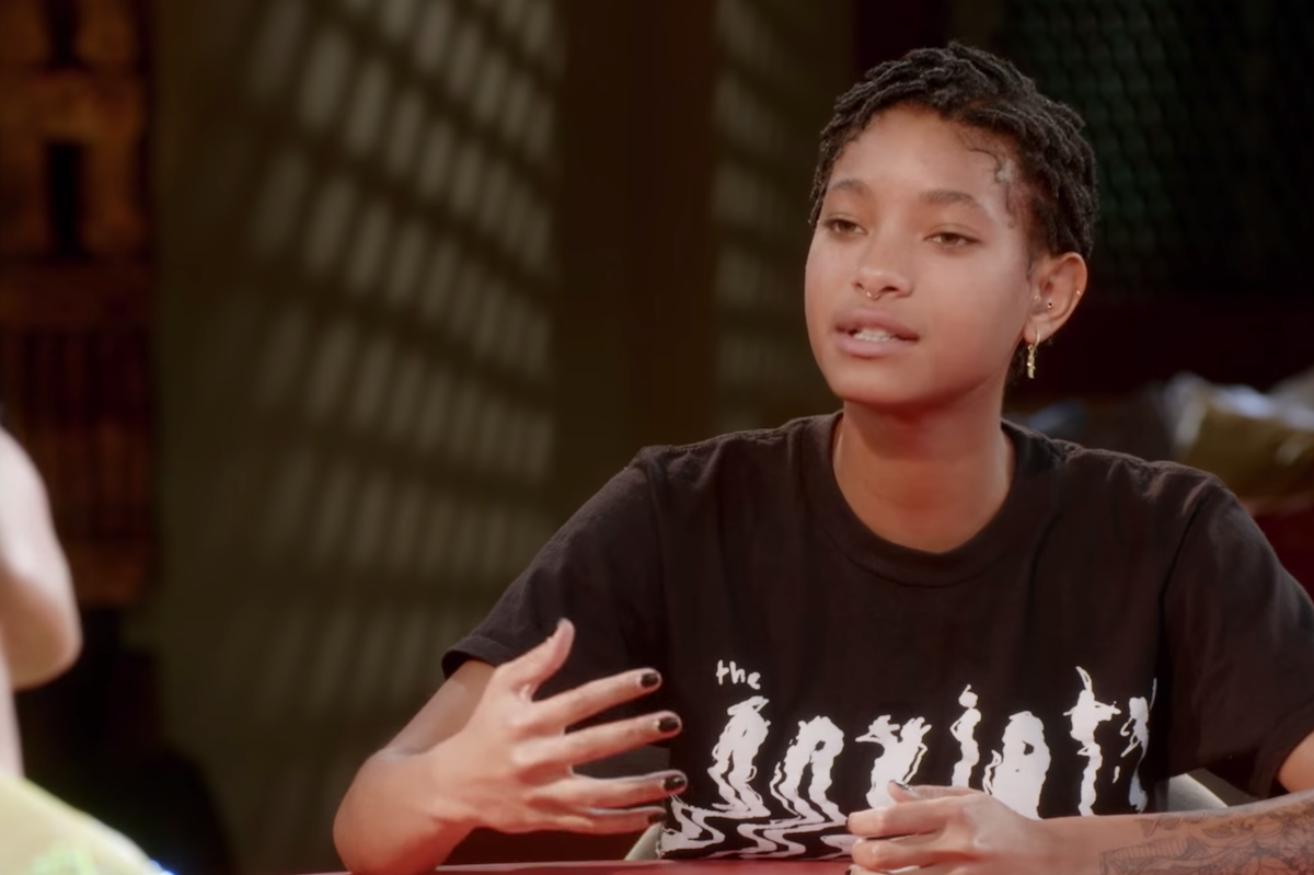 """Willow Smith on """"Red Table Talk"""" in March 2021"""