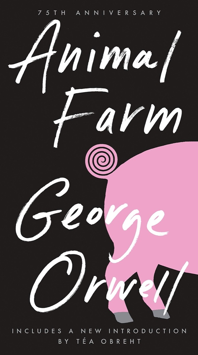 """Book cover of """"Animal Farm"""" by George Orwell"""