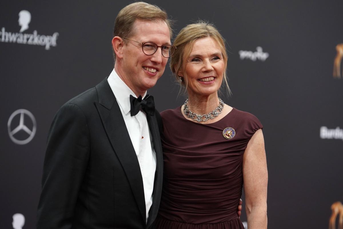 Bernhard, Hereditary Prince of Baden and Stephanie Anne Kaul in 2019