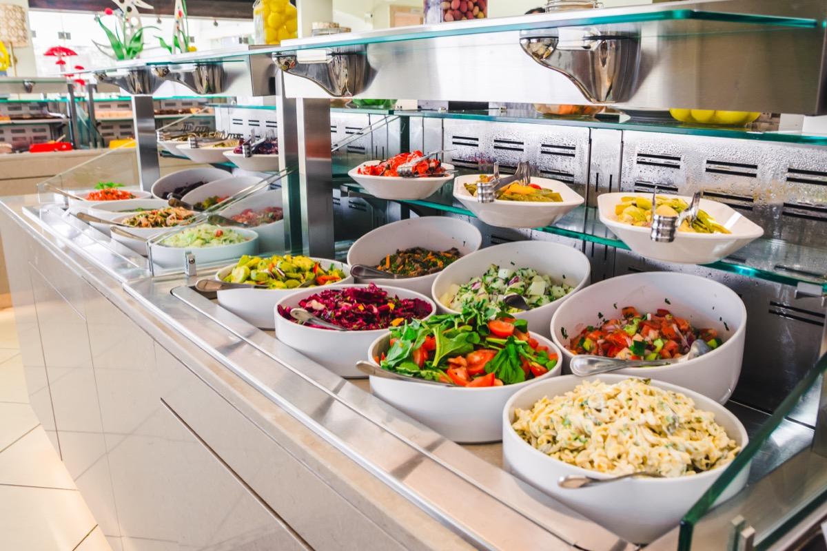 buffet restaurant salad bar