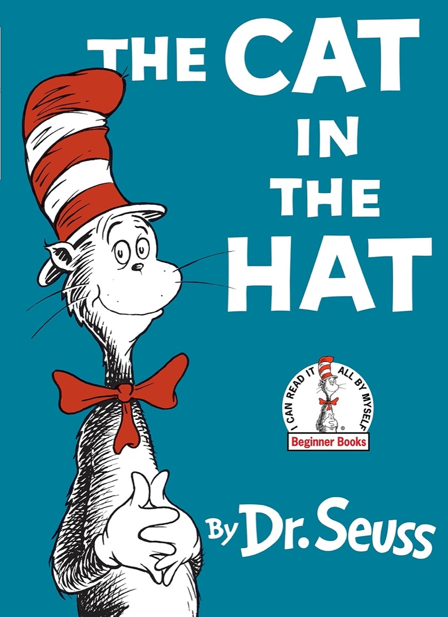 """Book Cover of """"The Cat in the Hat"""" by Dr. Seuss"""