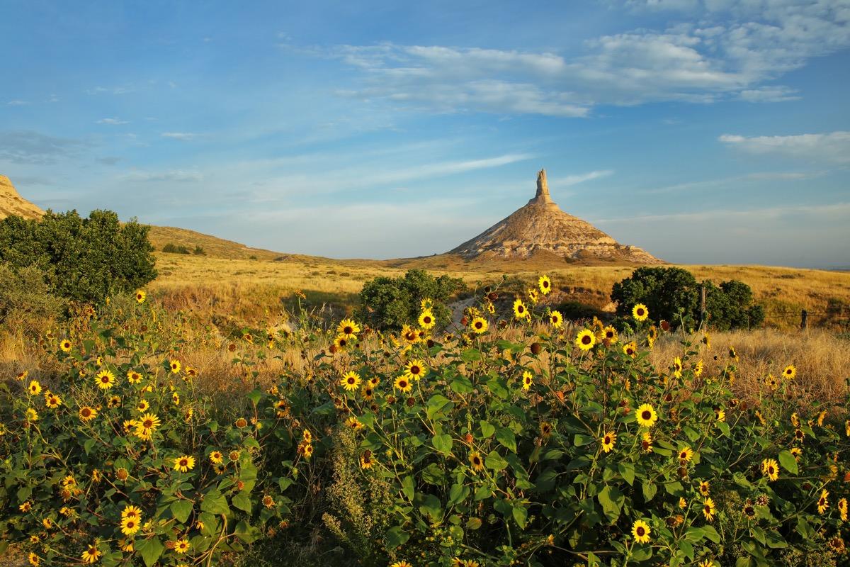 national historic park, chimney rock, nebraska