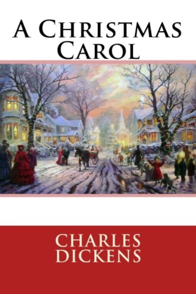 """Book Cover of """"A Christmas Carol"""" by Charles Dickens"""