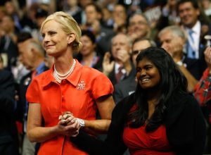 cindy mccain and her daughter bridget