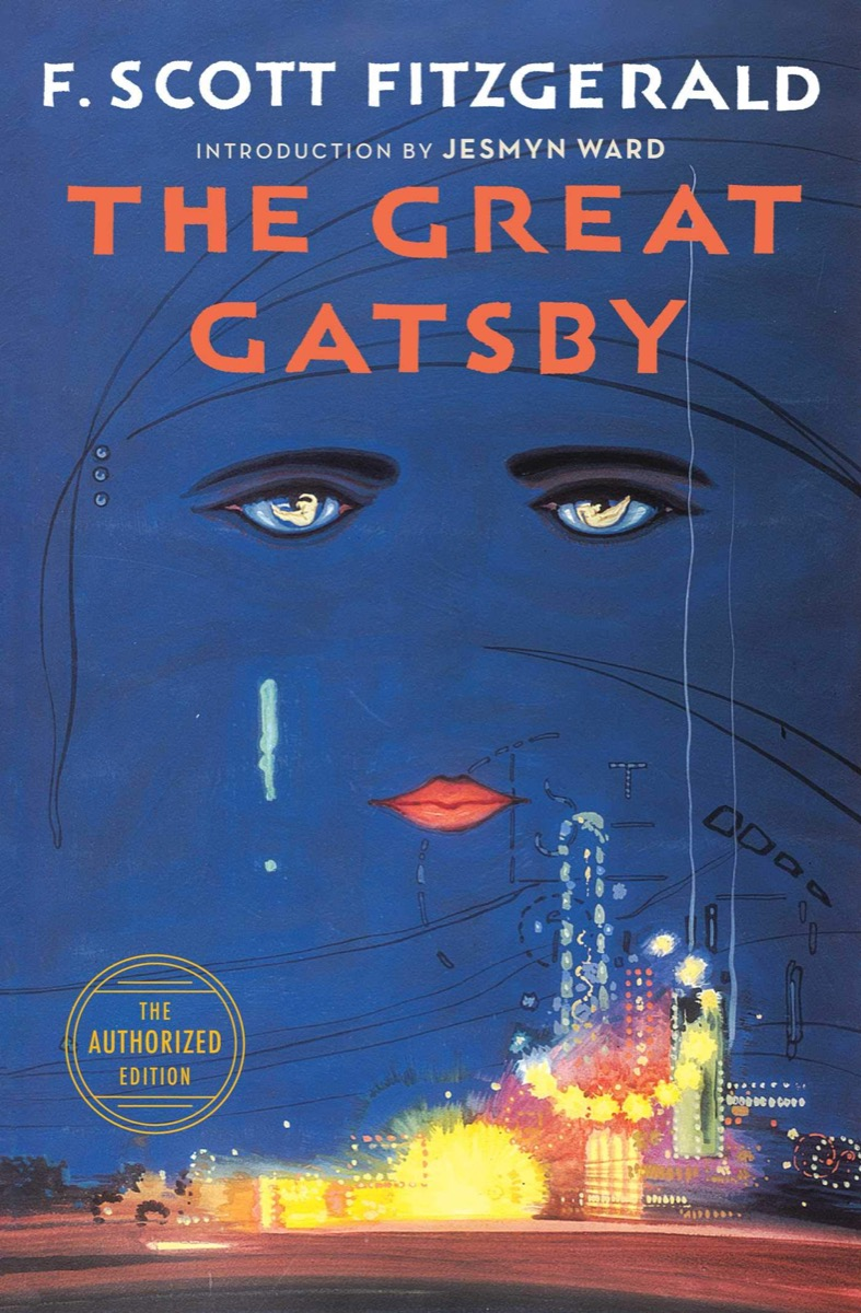 """Book cover of """"The Great Gatsby"""" by F. Scott Fitzgerald"""