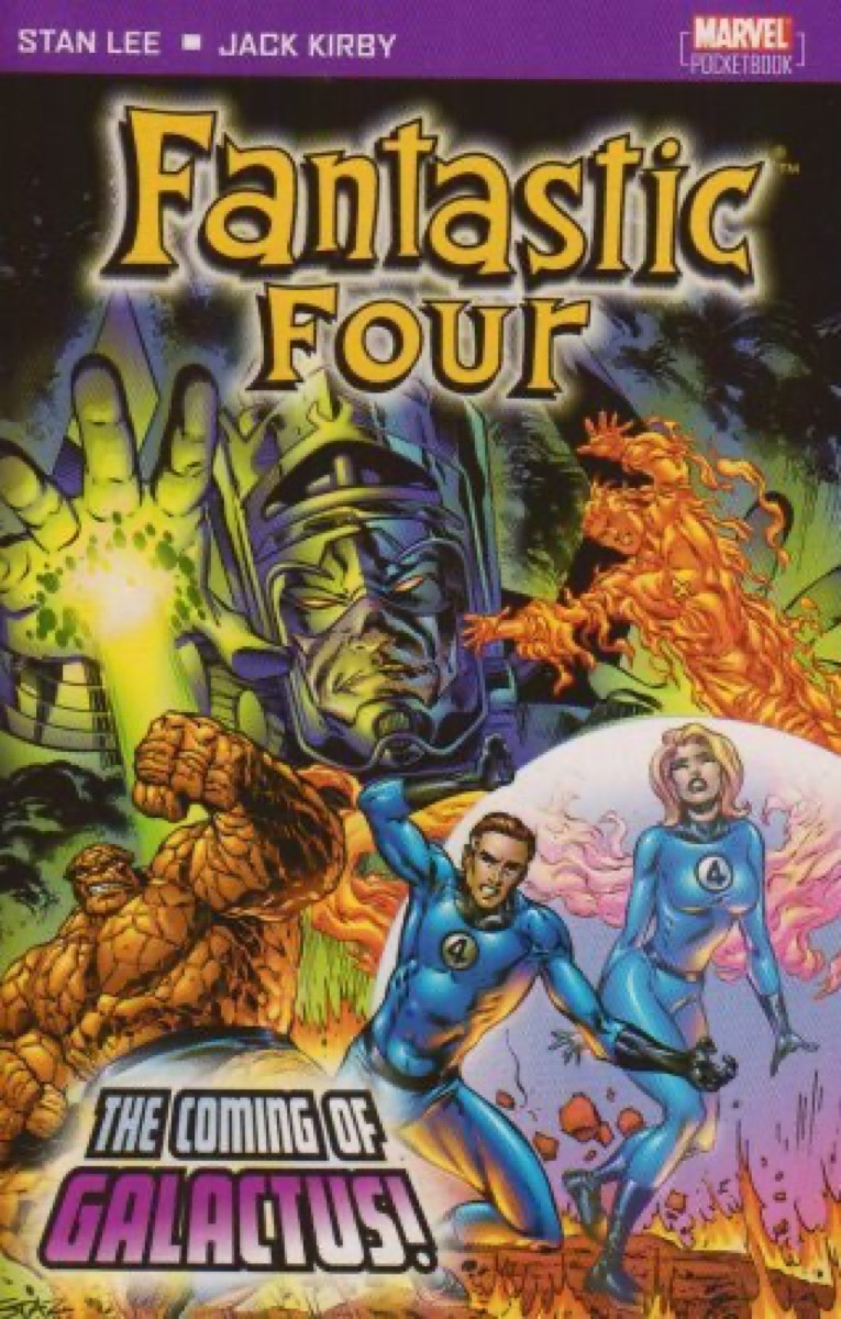 """Book cover of """"Fantastic Four: Coming of Galactus!"""" by Stan Lee"""