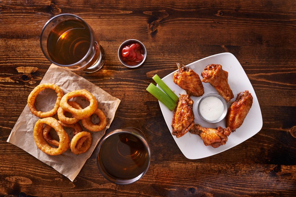 Fried bar food