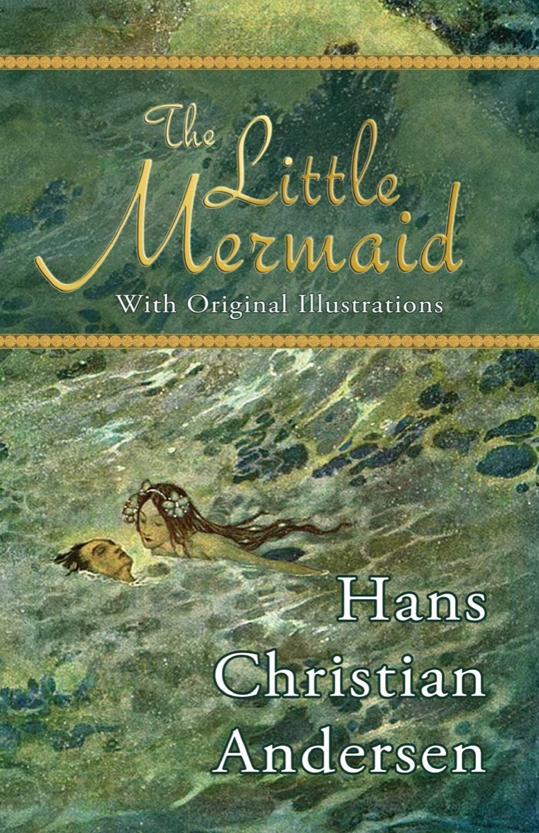 """Book cover of """"The Little Mermaid"""" by Hans Christian Anderson"""