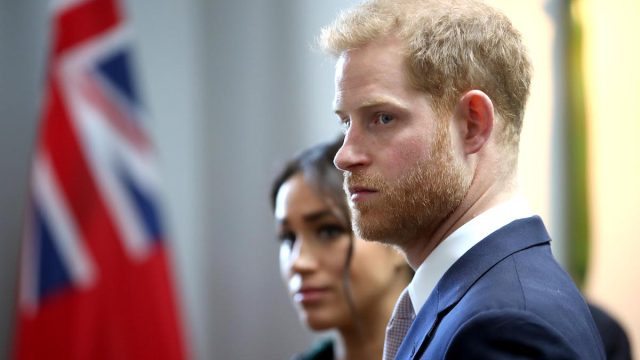 Meghan, Duchess of Sussex and Prince Harry, Duke of Sussex attend a Commonwealth Day Youth Event at Canada House, where they speak with young Canadians from a wide range of sectors including fashion, the arts, business and academia on March 11, 2019 in London, England.