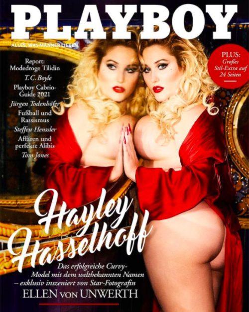 Hayley Hasselhoff for Playboy