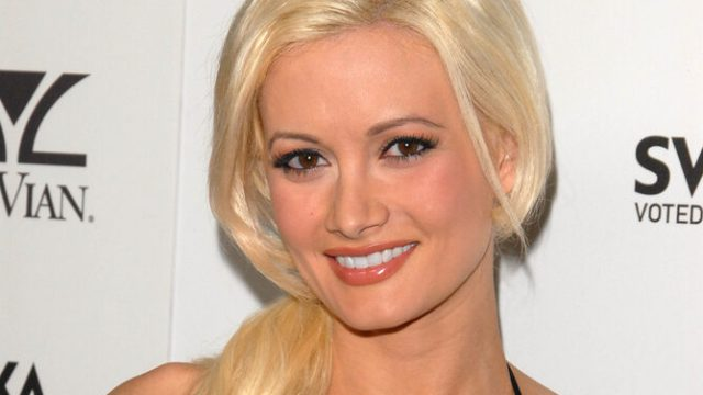 Holly Madison at an event in Hollywood