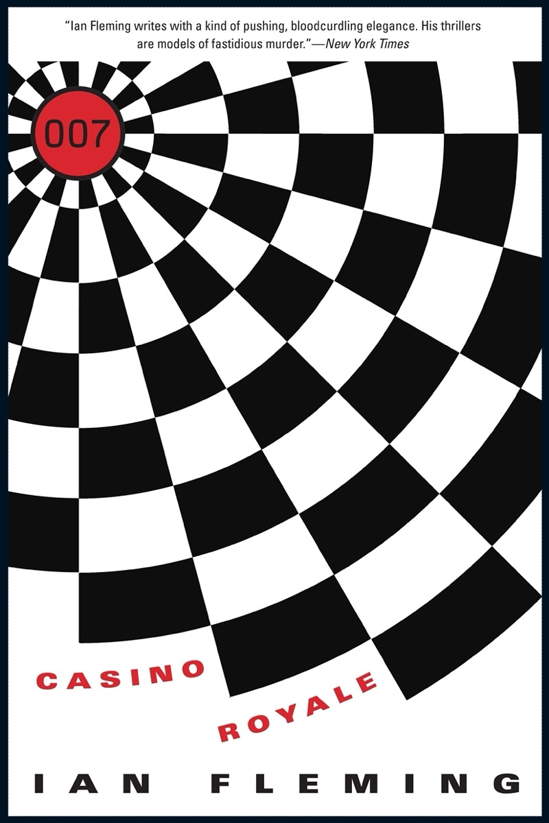 """Book cover of """"Casino Royale"""" by Ian Fleming"""