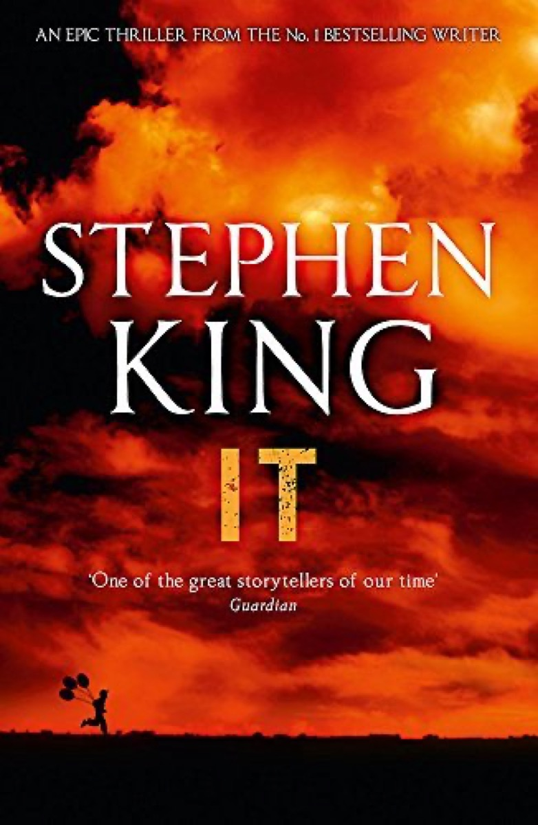 """Book cover of """"It"""" by Stephen King"""