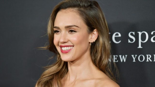 Jessica Alba at the InStyle Awards in 2019