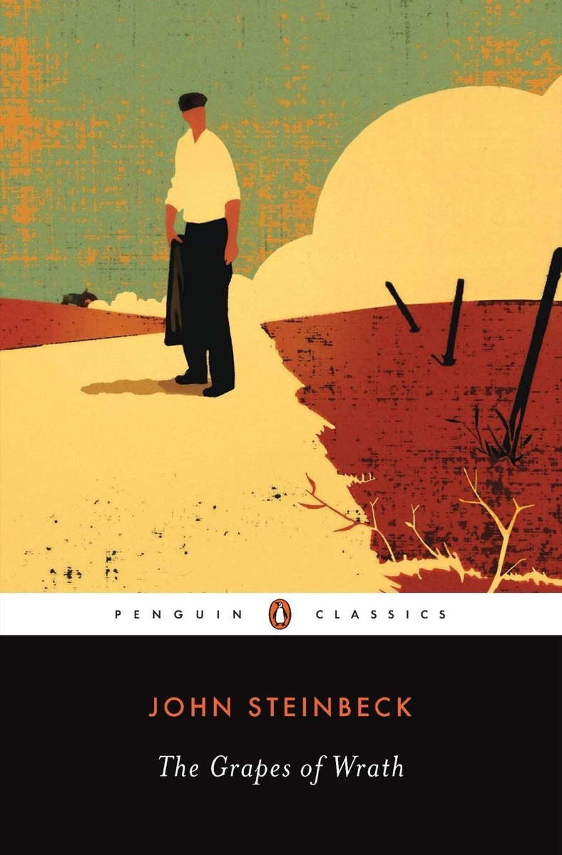 """Book cover of """"The Grapes of Wrath"""" by John Steinbeck"""