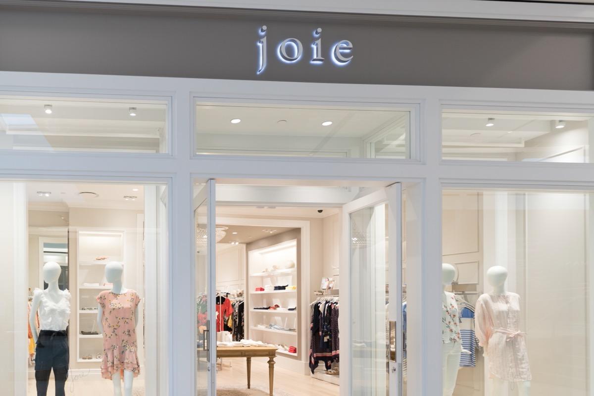 joie storefront with open door