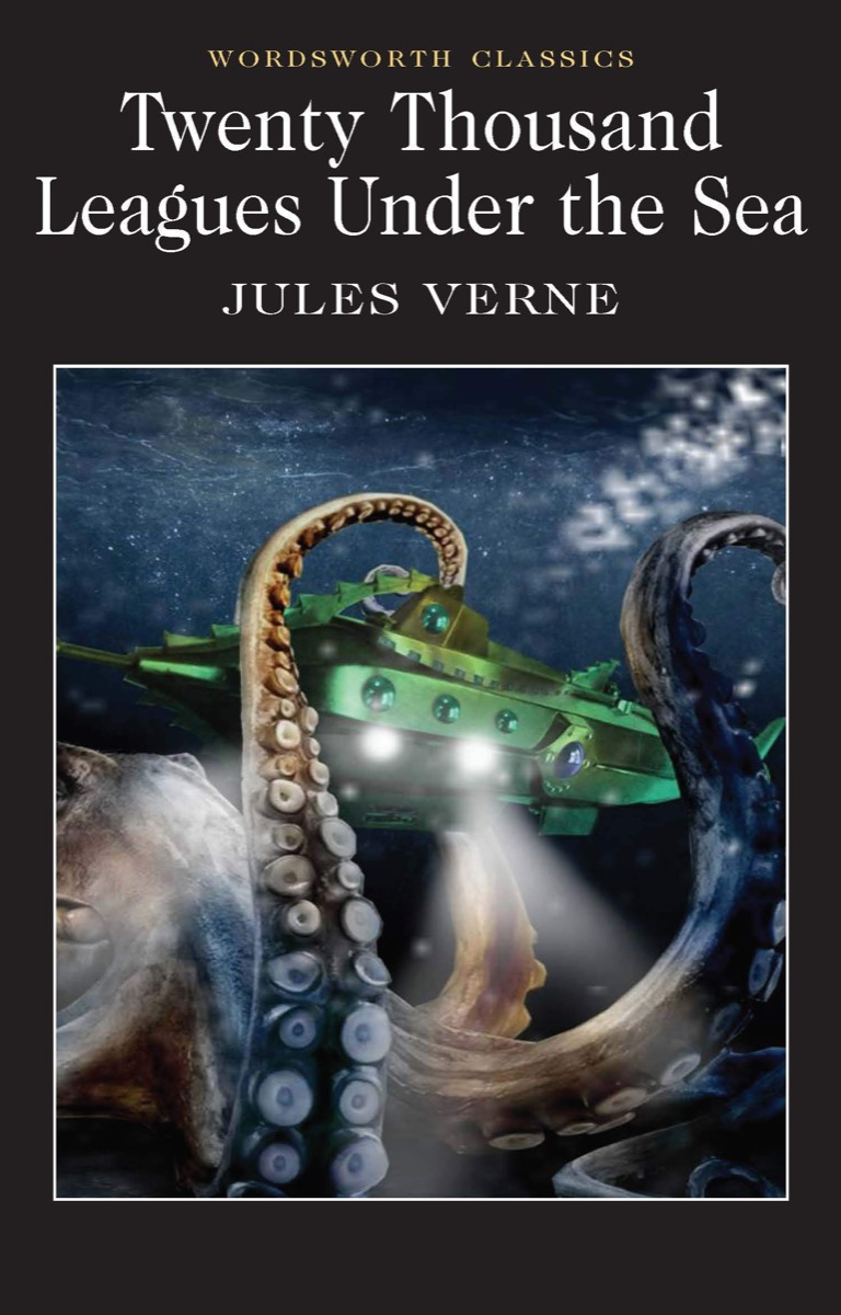 """Book cover of """"Twenty Thousand Leagues Under the Sea"""" by Jules Verne"""