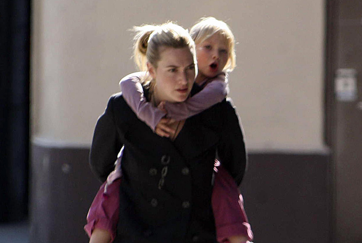 Kate Winslet with daughter Mia Threapleton in 2006