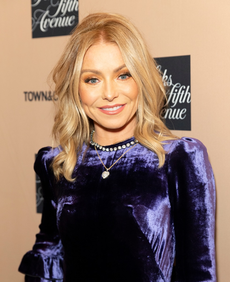 Kelly Ripa at Town & Country Jewelry Award in 2019