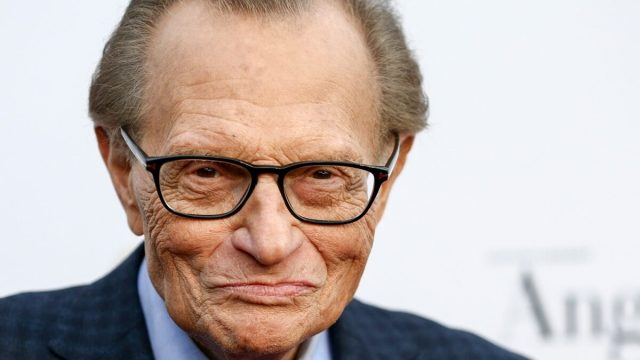 Larry King's 60th Broadcast Anniversary Event in 2017