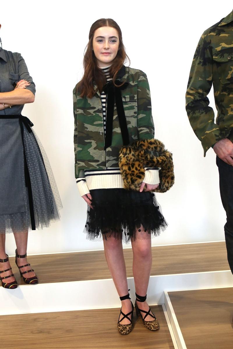 Liv Freundlich at the J. Crew presentation at New York Fashion Week