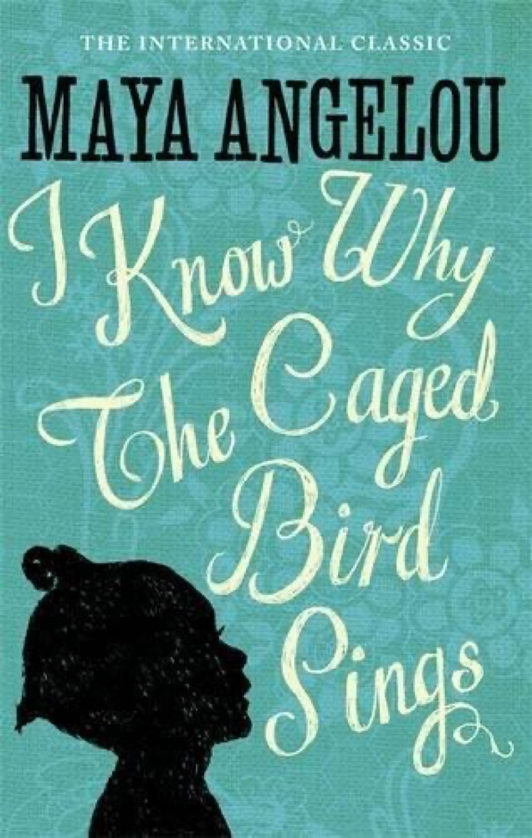 """Book cover of """"I Know Why The Caged Bird Sings"""" by Maya Angelou"""