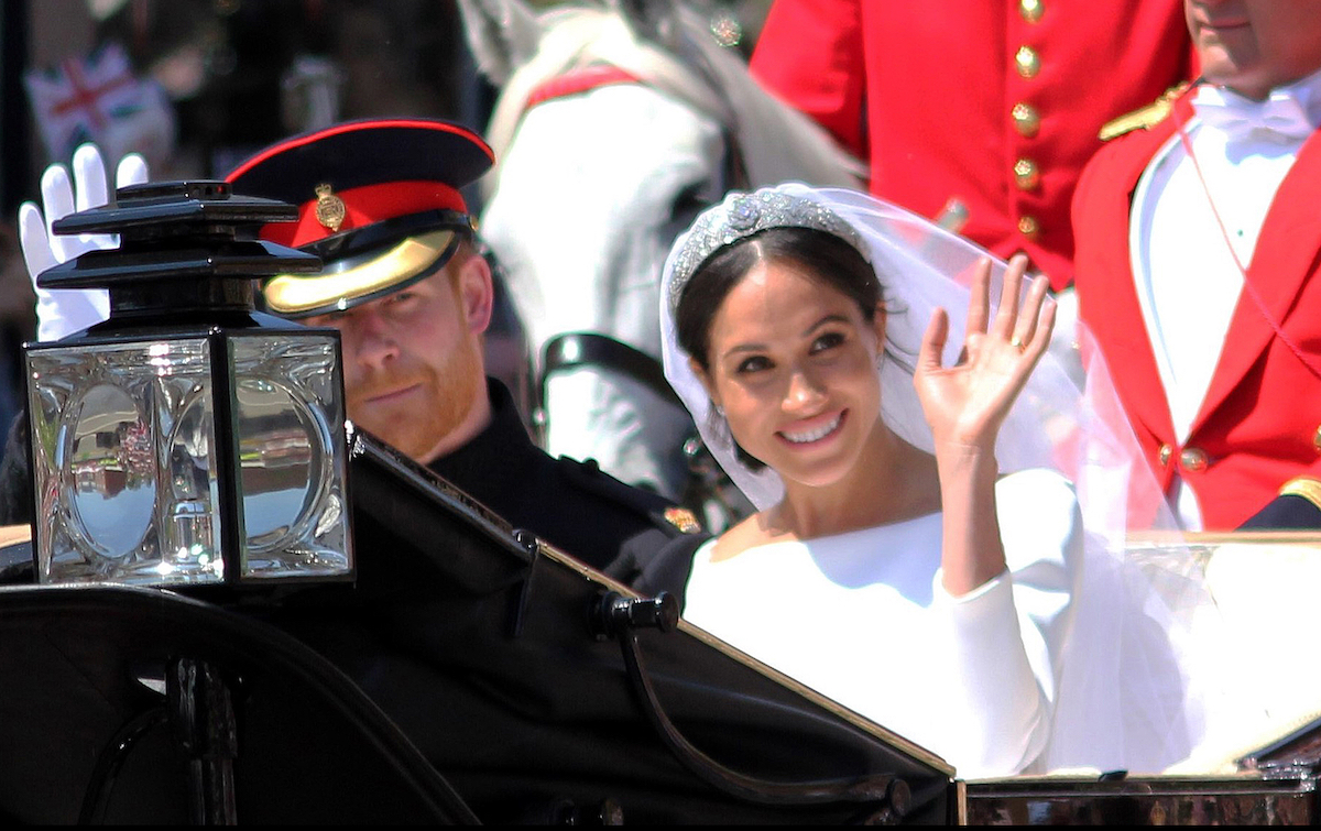Meghan and Harry's royal wedding in May 2018