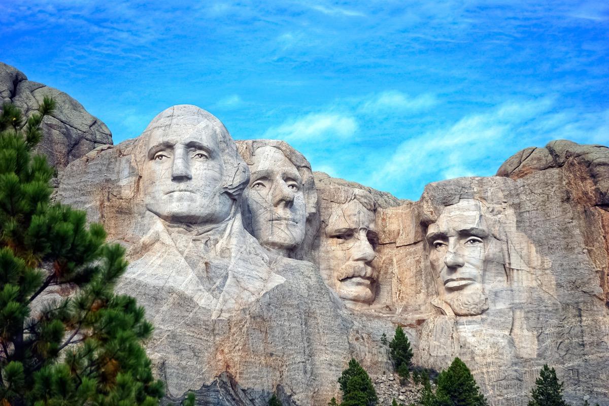 mount rushmore, presidents, rock, south dakota