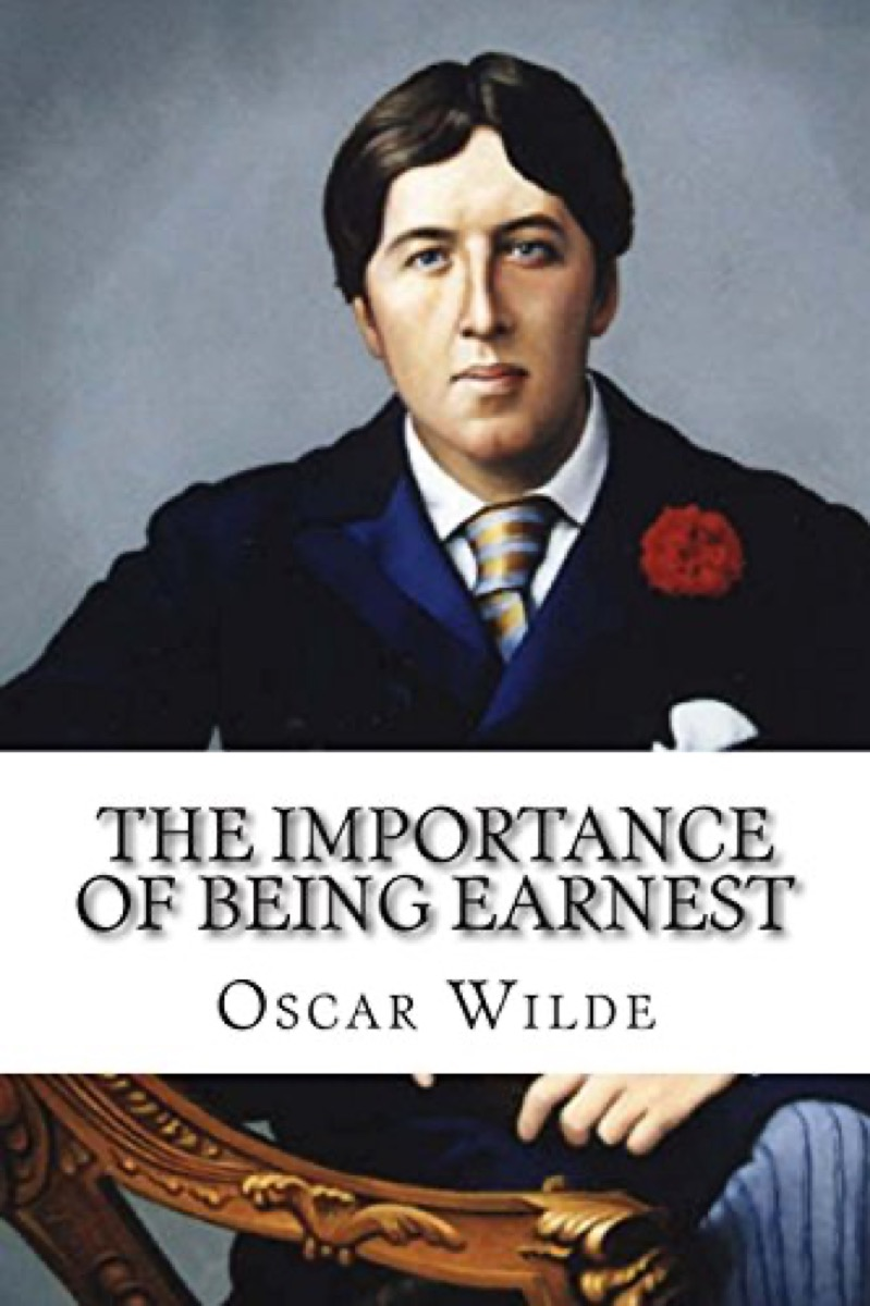 """Book cover of """"The Importance of Being Earnest"""" by Oscar Wilde"""