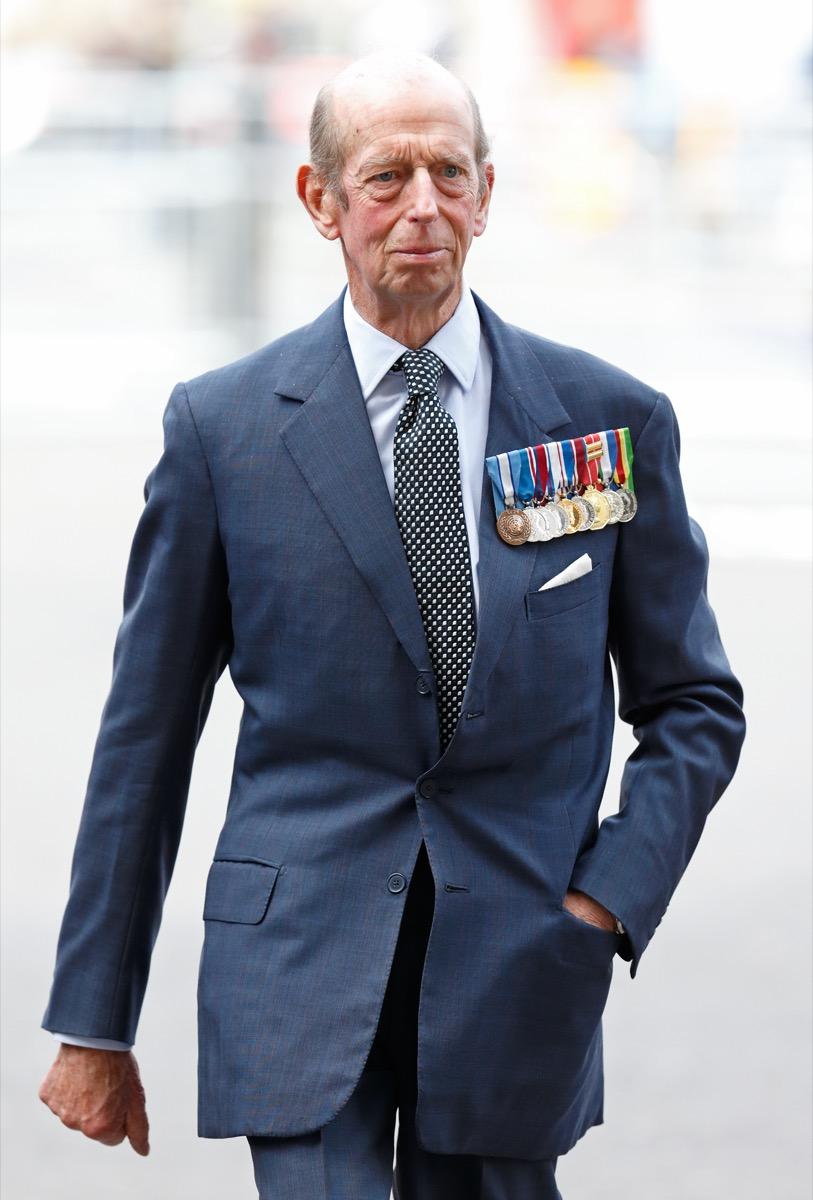 Edward, Duke of Kent in 2015
