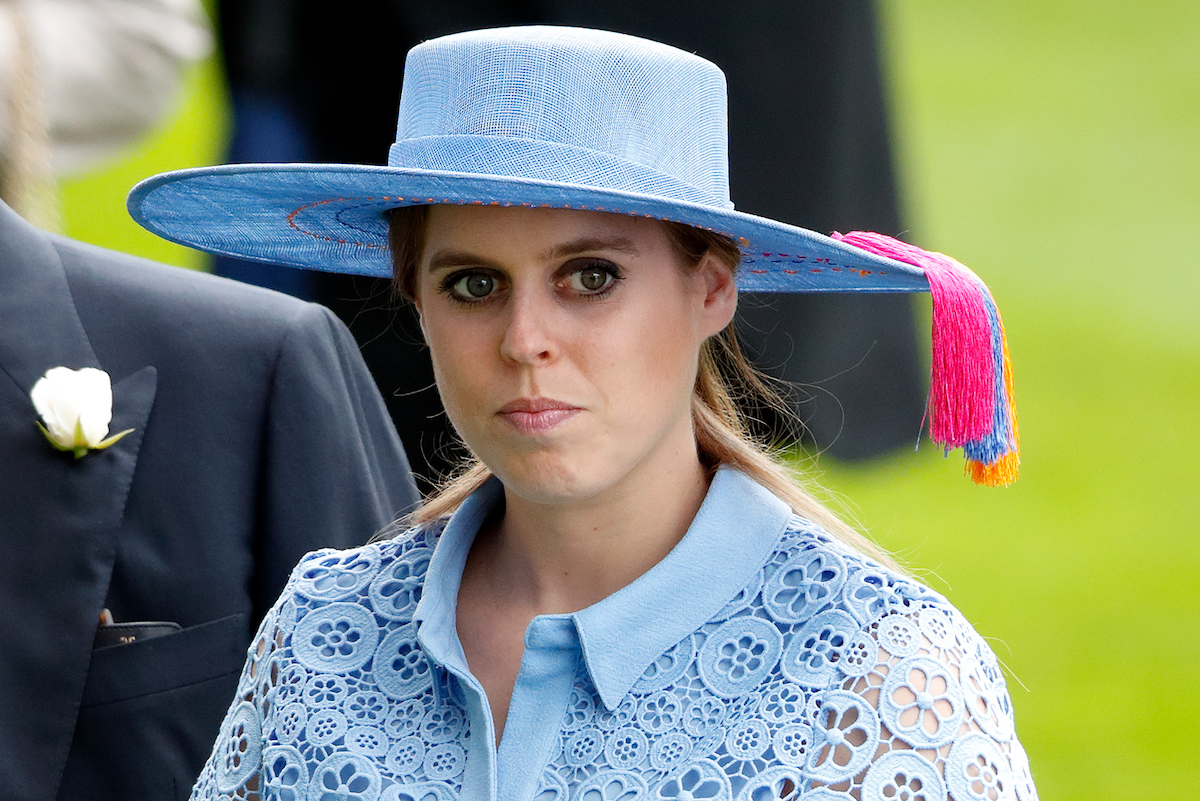 Princess Beatrice attends day one of Royal Ascot at Ascot Racecourse on June 18, 2019 in Ascot, England