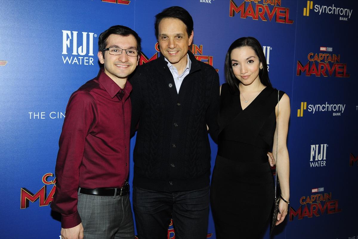 Ralph Macchio, Julia Macchio, and Daniel Macchio in 2019