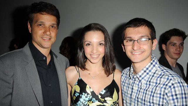 Ralph Macchio, Julia Macchio, and Daniel Macchio in 2015