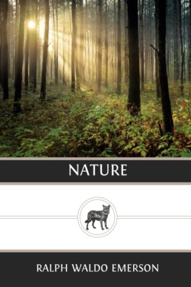 """Book cover of """"Nature"""" by Ralph Waldo Emerson"""