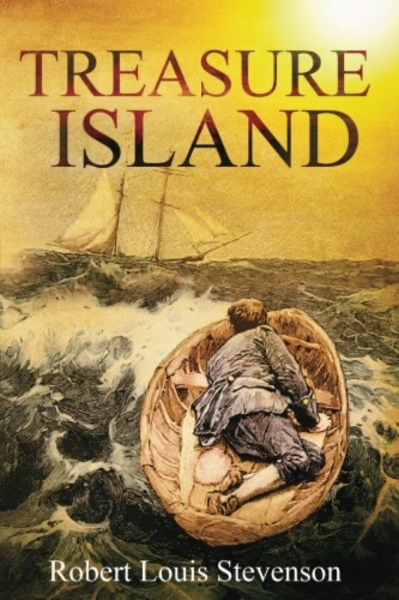 "Book cover of ""Treasure Island"" by Robert Louis Stevenson"