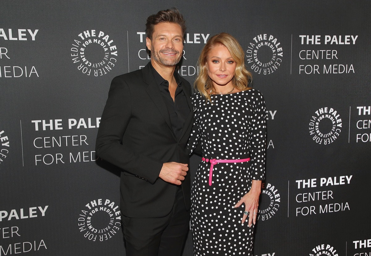 Kelly Ripa ad Ryan Seacrest at the The Paley Center for Media Event in 2020