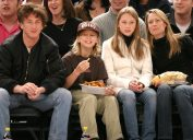 Sean Penn, Hopper Jack Penn, Dylan Frances Penn and Robin Wright