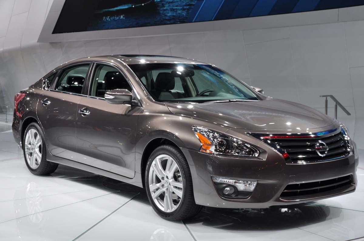 Gray Nissan Altima